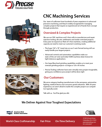 Profile CNC Profile April 2018